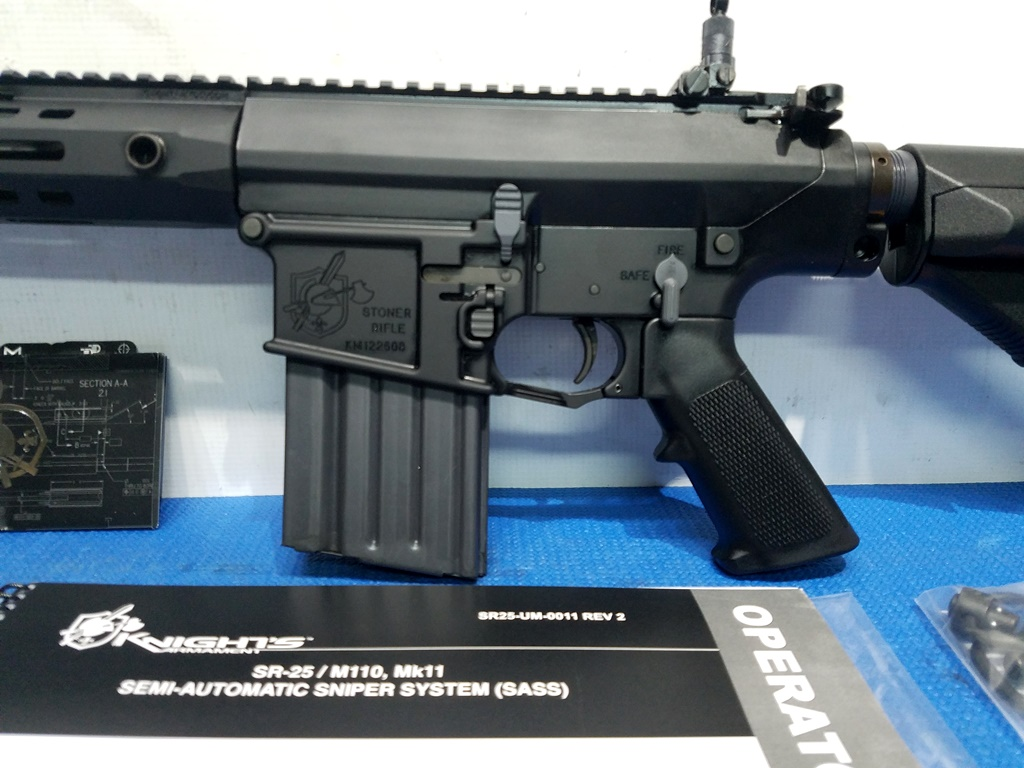 KNIGHTS ARMAMENT SR25 APC MLOK 308 RIFLE
