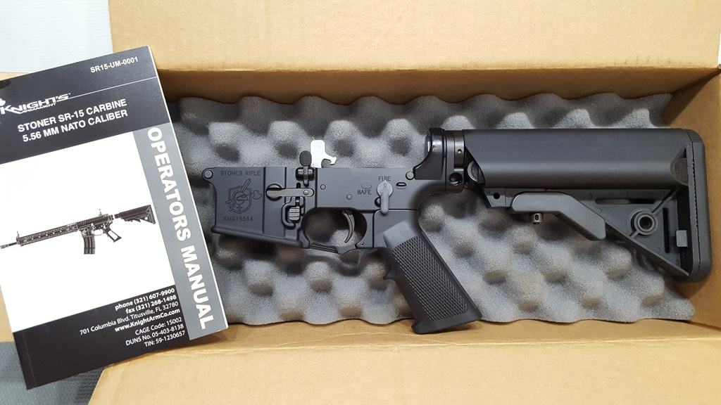 KNIGHT'S ARMAMENT SR-30 LOWER RECEIVER #31742