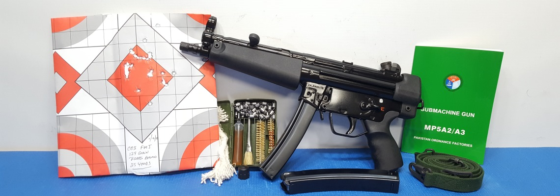 POF MP5 HK LICENCED 9MM PISTOL NIB GRADE A