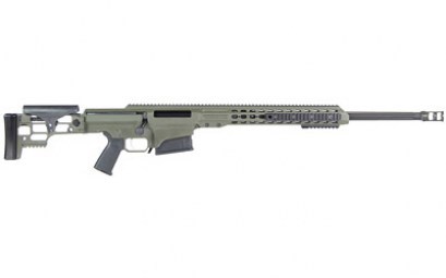 BARRETT MRAD 338LAP 26in FLUTED OD GREEN