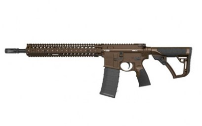 DD M4A1 556NATO 14.5in PB BROWN RIFLE