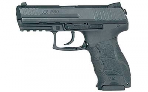 HK P30S 40SW 3.85inch Barrel Pistol, Double action/Single action w/2-10rd mags.