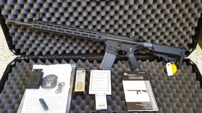 SR-15 LPR M-LOK 5.56MM 1inch MATCH RIFLE #31973  nib,