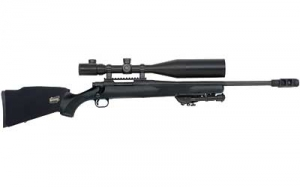 MOSSBERG 100ATR,Night Train,308WIN 22inch Fluted Barrel Rifle