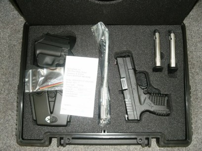 SPRINGFIELD XDS 9MM 3.3INCH BLK 7RD.