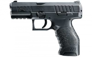 WALTHER PPX M1 9MM 16RD Pistol, Black Polymer, fixed sights