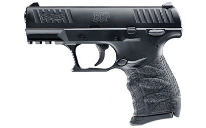 WALTHER CCP 9MM 3.54INCH BLK 8RD
